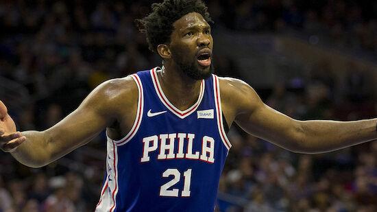 Gala von Joel Embiid für die Philadelphia 76ers