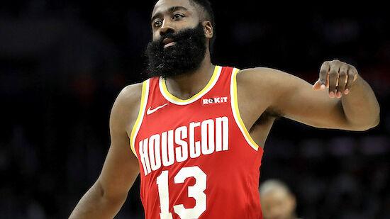 Überragender Harden rettet Rockets den Sieg