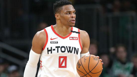 Die Rockets traden Russell Westbrook