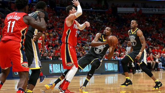 NBA-Playoffs: Warriors und Rockets vor Aufstieg