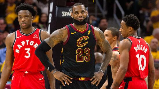 Raptors scheitern an Cavaliers