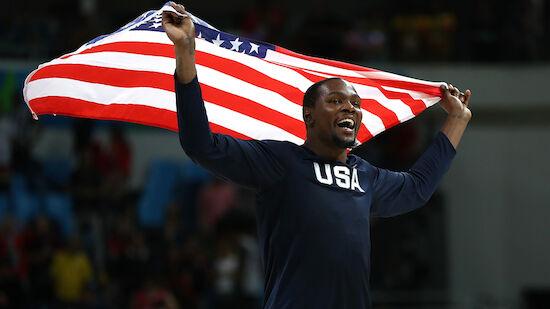 Olympia: US-Team mit Durant, ohne Harden
