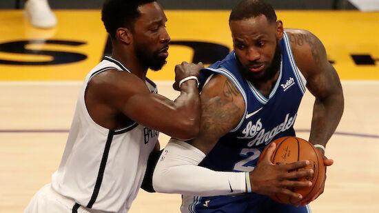 Brooklyn Nets gewinnen bei den Lakers