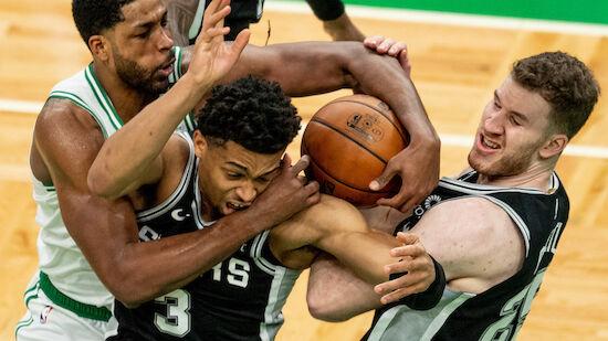 Double-Double von Pöltl bei Spurs-Niederlage