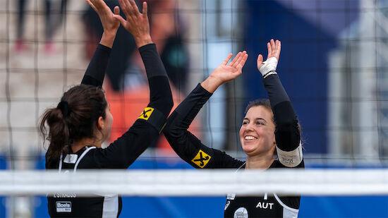 ÖVV-Damen starten mit Sieg in Olympia-Quali-Finale