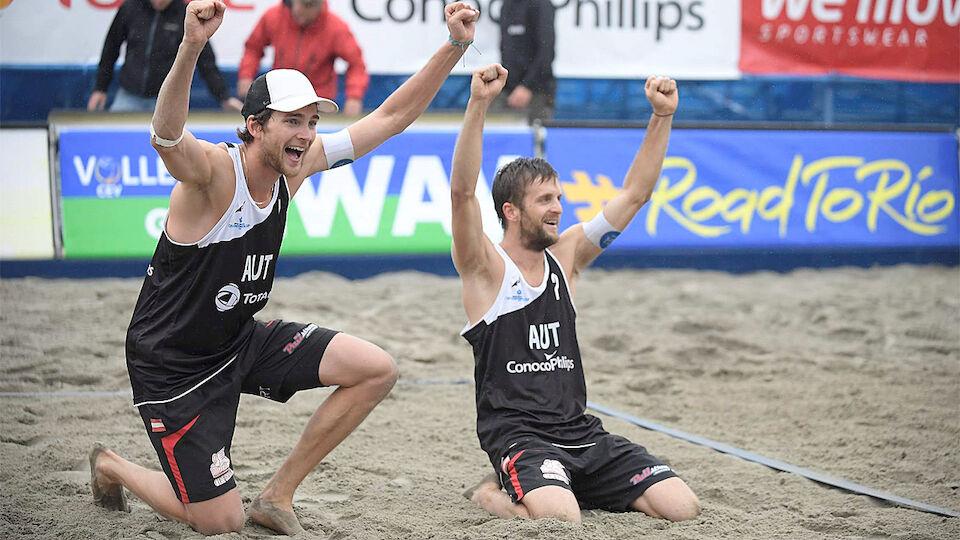 Bilder vom ÖVV-Sieg beim Conti-Cup-Finale in Stavanger
