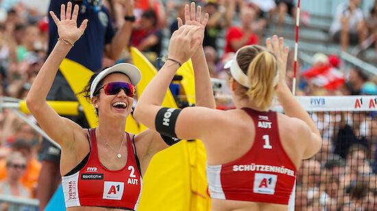 ÖVV-Duo im Cancun-Viertelfinale