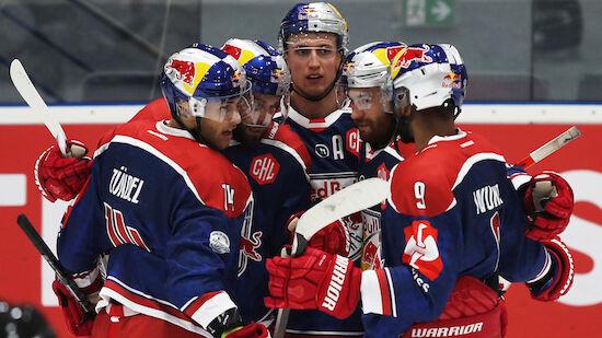 Zweiter Salzburg-Sieg in Champions Hockey League