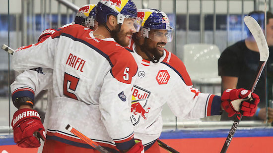 Salzburg gewinnt auch viertes CHL-Spiel