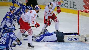 Salzburg und KAC verpatzen Playoff-Start