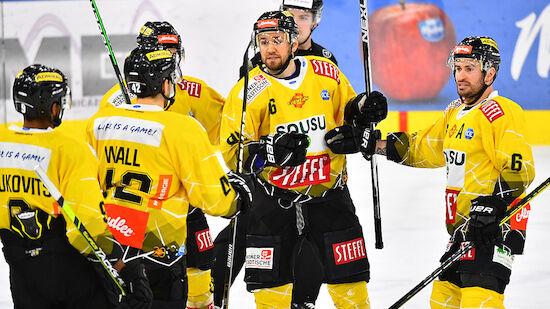 Vienna Capitals feiern Comeback-Sieg in Bozen