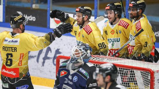 Vienna Capitals stürmen ins Semifinale