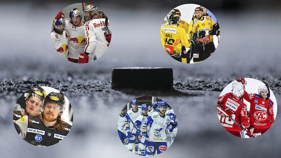 Die Brennpunkte der ICE-Playoffs