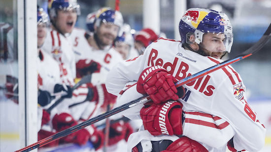 Salzburg holt sich den Matchpuck gegen Dornbirn