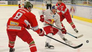 Red Bull Salzburg unterliegt Bozen daheim