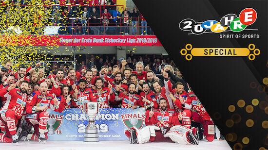 EBEL-Ära: Alle Eishockey-Meister seit 2003/04