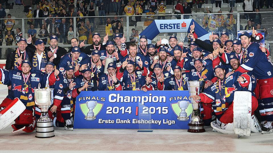 20 Jahre LAOLA1: EBEL-Meister seit der Liga-Neugründung 2003/04
