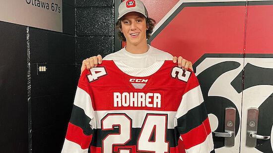 Vinzenz Rohrer trifft erstmals in der OHL
