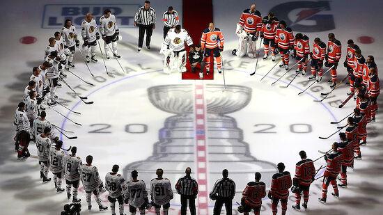 NHL startet mit politischer Note in die Playoffs