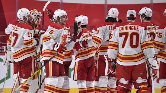 Calgary Flames wahren Playoff-Chance