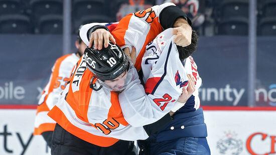 Aufholjagd der Flyers gegen Capitals unbelohnt