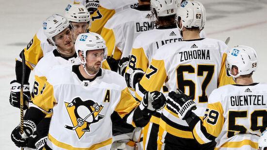 Penguins zerstören letzte Sabres-Playoff-Chance