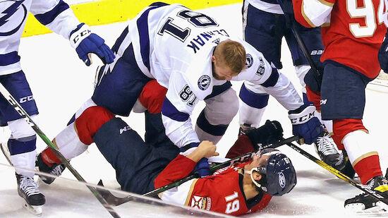 Lightning erhöhen in Serie gegen Panthers