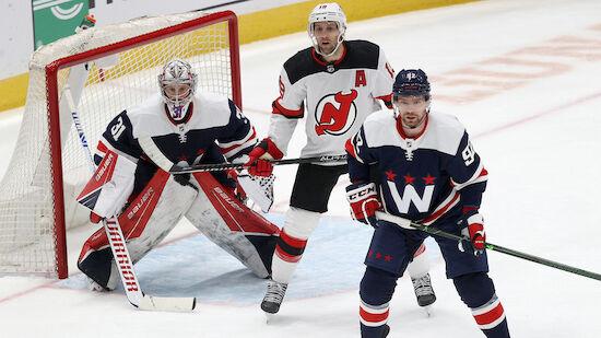 Drei Capitals-Power-Play-Tore versenken Devils