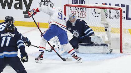 Canadiens führen nach Shorthander-Goldtor bei den Jets mit 2:0