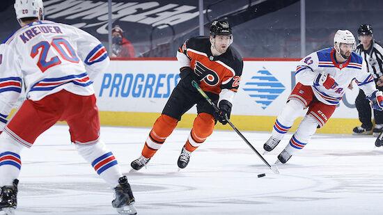 Siege für Flyers, Maple Leafs, Wild und die Kings