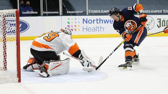 Overtime-Niederlage für die Philadelphia Flyers