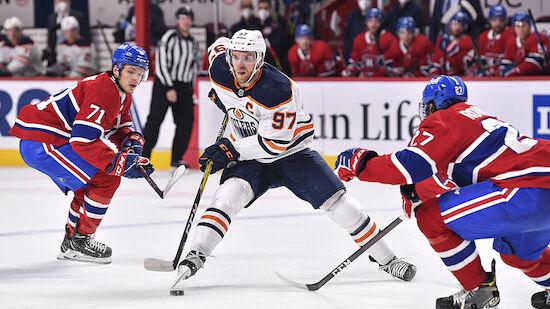 Oilers, Avalanche und die Golden Knights siegen