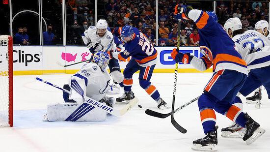 Islanders gleichen Serie gegen Tampa Bay aus