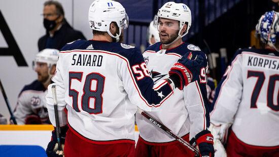 Columbus holt ersten NHL-Sieg in Detroit
