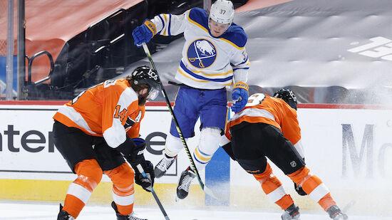 Raffl fehlt bei Flyers-Schock gegen Sabres
