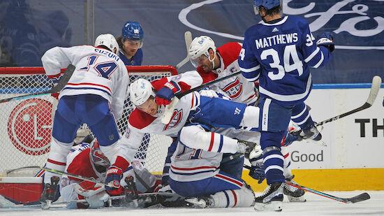 Canadiens drehen Serie gegen Maple Leafs