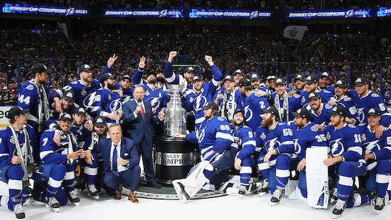 Tampa Bay peilt den Stanley-Cup-Hattrick an
