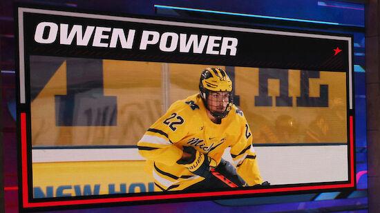 Owen Power Nummer-eins-Pick der Buffalo Sabres