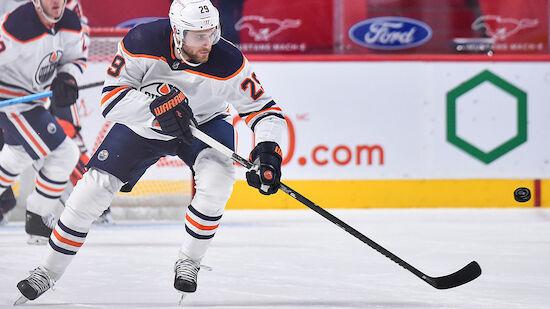 Gala von Oilers-Star Leon Draisaitl gegen Ottawa