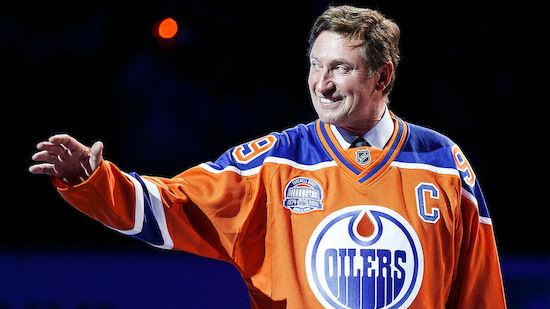 Wayne Gretzky verlässt die Edmonton Oilers