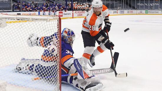 Flyers verlieren ohne Raffl gegen Islanders