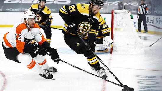 Raffl und die Flyers gehen bei den Bruins unter