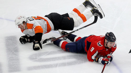 Caps besiegen Flyers - 100. Punkt für McDavid