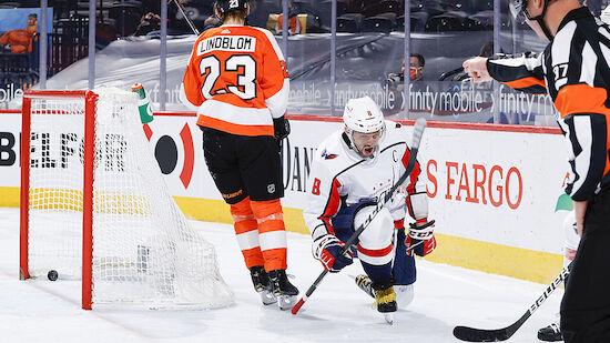 Caps besiegen Flyers - Ovechkin an Esposito dran
