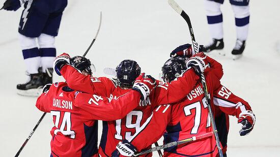 NHL-Playoffs: Washington erzwingt Spiel 7