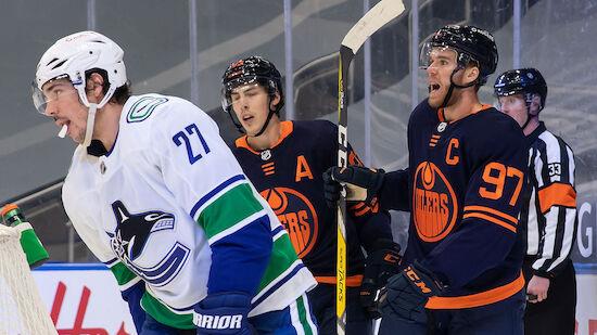 McDavid-Hattrick für die Oilers
