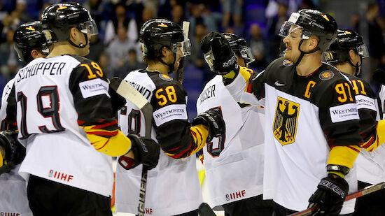 Eishockey-WM: Deutschland steht im Viertelfinale