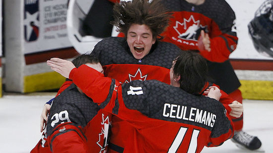 Kanada fliegt makellos zum WM-Titel der U18