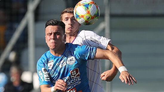 2. Liga: Klagenfurt wieder Tabellenfürher
