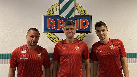 Neuer Cheftrainer für Rapid II